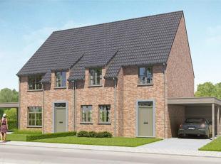 Lot bouwgrond voor halfopen bebouwing op 324 m² in een gezellige woonwijk. De tuin is ZO-georiënteerd. De eerste koper kiest de bouwstijl. V