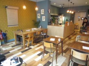 Over te nemen : restaurant / ontbijt en lunchbar op goede locatie op het Antwerpse - Zuid omgeving Marnixplaats .<br /> In deze gezellige en kleine on
