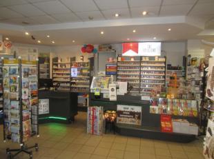 Over te nemen : goed draaiende dagbladhandel met lotto op toplocatie in een winkelwandelstraat te Antwerpen - Centrum  omgeving Meir . Reeds zeer ruim