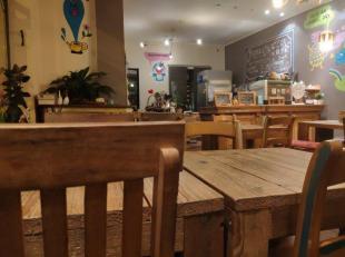 Over te nemen : super gezellig restaurantje / eet - en theehuisje met mooie hoekligging in het historisch gedeelte van Antwerpen - Centrum . Gelegen i