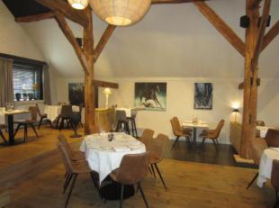 Over te nemen : brasserie / restaurant met tuinterras , loungebar en feestzaaltje in de regio Herentals .<br />  Zaak is gelegen in een aangename omge