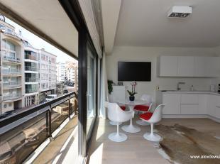 Bel appartement 1 chambre, bien situé dans l'Av Royale et à proximité de la Place Rubens. L'appartement a une chouette terrasse e