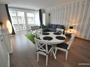 Gezellig vakantie appartement, zeer dicht bij het Rubensplein. Samenstelling: inkomhal met apart toilet en douchekamer, woonkamer met open keuken, 1 s