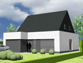 Nieuw te bouwen alleenstaande woning met vrije keuze van architectuur te Olsene. Prijs voorbeeldwoning, maar geen verplichting. Your Home luistert naa