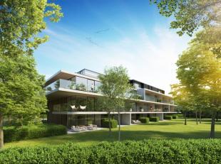 Rumbeke Park is een straf architecturaal woonproject van de Brugse architecten Govaert & Vanhoutte.Met z'n optimale mix van glas, zichtbeton en ho