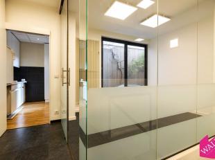 Instapklare kantoren, gelijkvloers aan de Italiëlei van Antwerpen, vlakbij de Universiteit van Antwerpen. Tijdelijke verhuur mogelijk van 6 ma. T
