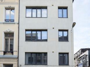 Volledig gerenoveerd appartement op de 1e verdieping met 1 (+1) slaapkamer op leuke ligging in Antwerpen Centrum nabij  het Mechelsplein. Beschikbaar