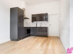 Volledig gerenoveerd gelijkvloers studio- appartement met aparte slaapkamer op goede ligging op het Zuid. Onmiddellijk beschikbaar. Indeling: leefruim