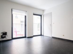 Nieuwbouw studio appartement in hartje Antwerpen. Zeer rustige ligging. Onmiddelijk beschikbaar! Op wandelafstand van de Grote Markt. 1 slaapkamer app