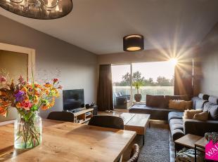 Op zoek naar een verzorgd 2-slaapkamer appartement met een ruim terras en een prachtig groen zicht? Dan bieden wij U graag deze instapklare woning aan