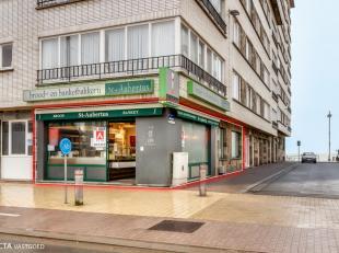 Een goed gelegen handelsgelijkvloers vlakbij zee centrum Middelkerke. Opvallende hoekligging en professioneel ingericht als koude bakkerij. Totale opp