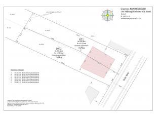 Perceel grond voor halfopen bebouwing van 7a70ca. <br /> Geschikt voor het bouwen van een eensgezinswoning, met twee bouwlagen. <br /> De straatbree