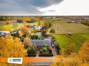 Vrijstaande, gelijkvloerse woning met paardenstalling 26m² en naastliggende weide!!<br /> Voor meer info (foto's, omschrijving, plan en virtueel