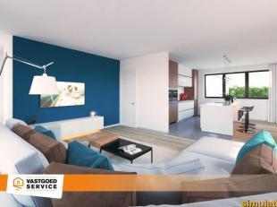 Ruim duplex appartement (143m²) met drie slaapkamers en ruim terras van maar liefst 23m² in Residentie De Buiting, de nieuwste parel van Hig