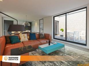 Prachtig appartement (92,5m²) met twee slaapkamers en zonneterras van 11m² in Residentie De Buiting, de nieuwste parel van High Quality Inve