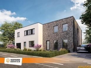 Prachtige moderne nieuwbouwwoning (153m²) in Paal op een ideale, rustige ligging. Deze CASCO + afgewerkte halfopen bebouwing heeft zeer aangename