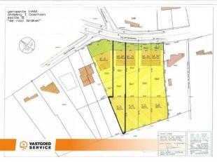 Zuidelijk georiënteerde bouwgrond voor HOB met een grootte van 960 m². (LOT 2a = 6a28 ca +LOT 2b = 3a32ca) Deze bouwgrond heeft een straatbr
