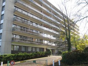 IN OPTIE! Mooie studio/penthouse gelegen op de 8e verdieping met prachtig zicht, omvattende:  living met slaaphoek, eetplaats, half ingerichte keuken,