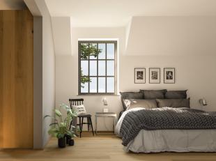 Deze karaktervolle herenwoning maakt deel uit van de nieuwe, groene woonzone Op de Heufkens te Koninksem, Tongeren.Het gelijkvloers heeft een open keu