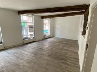 Dit gerenoveerde duplexappartement met 2 slaapkamers maakt deel uit van een kleinschalige residentie en is met haar ligging aan de Demerstraat gelegen