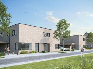 Lot 6 is een halfopen bebouwing op een perceel van 393m2.<br /> De woning bevat:<br /> Gelijkvloers: inkomhal, apart toilet, leefruimte met halfopen k