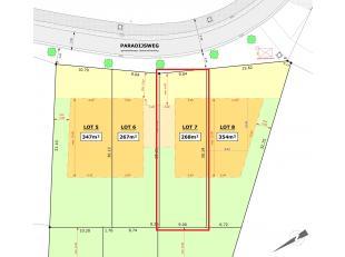 Rustig wonen in Zerkegem Jabbeke. Nog 1 lot voor halfopen bebouwing beschikbaar = lot 7! De ligging is mooi meegenomen: rustig gelegen in een groen ka