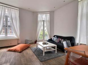 Saint-Gilles - Parvis de la trinité - ERA Châtelain vous propose ce superbe appartement entièrement rénové avec balc