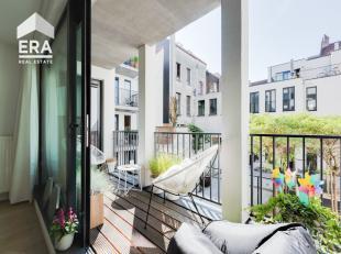 Leuk nieuwbouwappartement (Bwj. 2012) gelegen in het centrum van Antwerpen met 2 slaapkamers en ondergrondse autostaanplaats. Het appartement is te be