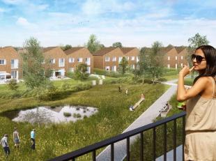 Zeer centraal gelegen energiezuinige woningen nabij het centrum van Sint-Niklaas op site Filteint. Het groene domein waarop de woningen staan, omgeven