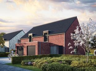 Vier nieuwbouwwoningen in een strakke stijl. Die worden gebouwd op de sympathieke nieuwe verkaveling langs de Vaandelstraat. De hedendaagse architectu