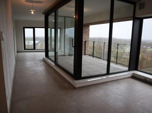 """Dit splinternieuwe appartement is gelegen in de net opgeleverde """"Gazometersite"""" aan het station van Sint-Truiden. Het kijkt vanop de 5de verdieping ui"""