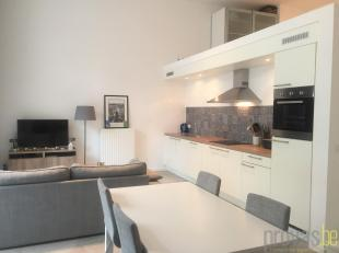 Dit duplexappartement van ca 84 m² bevindt zich op een hippe toplocatie in de Antwerpse theaterbuurt, om de hoek van de Stadsschouwburg, de Wappe