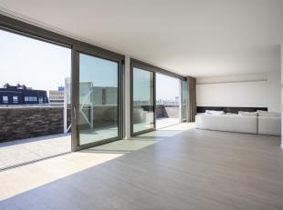 Subliem penthouseappartement van ca 174 m² op de zesde verdieping in de stijlvolle realisatie LIle Perdue gelegen aan de Amsterdamstraat, de verb
