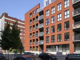Aangenaam en licht appartement van ca 85 m² op de tweede verdiepingin residentie I-LO op Het Eilandje. De jachthaven, het Willemdok en het MAS be