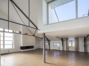 Gelegen op een absolute toplocatie in Antwerpen en bekroond met een prestigieuze architectuurprijs is deze spectaculaire loft een unicum. De lijst van