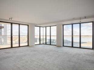 """Riant appartement van ca 214 m2 met frontaal Scheldezicht en ca 82 m2 terras rondom. Gelegen in de nieuwbouwrealisatie """"Scheldekaai"""" naar een toparchi"""
