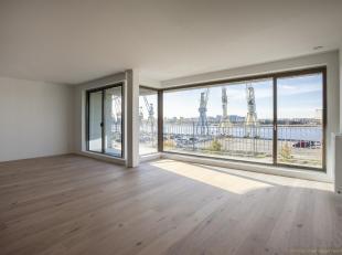 """Uitzonderlijk nieuwbouwappartement van ca 121 m² op de tweede verdieping van de oogverblindende residentie """"Liberty"""".<br /> Deze nieuwbouwrealisa"""
