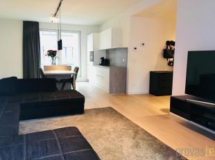 Recent appartement van ca 72 m² in de nieuwbouwresidentie die deeluitmaakt van het project de Rijkswachtkazerne, een unieke site waar de authenti