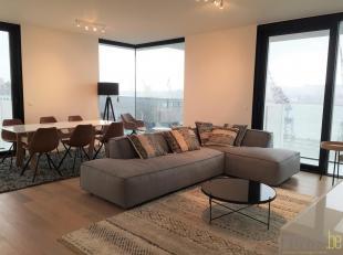 Dit gemeubeld appartement van ca 94 m² bevindt zich op de vijfde verdieping van deknappe residentie Melopee. Deze nieuwbouwrealisatie op de hoek