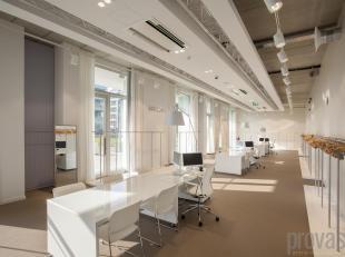 Uitzonderlijke en uiterst stabiele investering op het Eilandje!<br /> Deze handelsruimte van ca 330 m² is gelegen in de derde toren van de recent