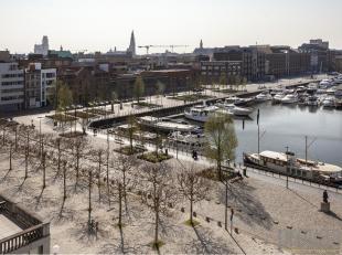 Appartement van ca 141 m² op een supercentrale locatie op het Eilandje. Het appartement is gelegen in de statige residentie Het Koninklijk Entrep