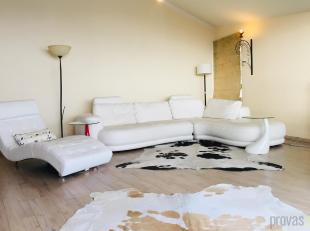 Deze modern gemeubelde penthouse van ca 110 m² bevindt zich in de stijlvolle residentie Helix. Gelegen vlakbij de trendy winkelbuurt van Antwerpe