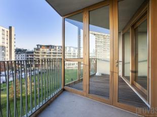 Prachtig tweeslaapkamerappartement van ca 104 m², gelegen op de derdeverdieping op een uitzonderlijke locatie op Nieuw Zuid vlakbij de Gedempte Z