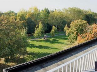 Leuk en goed gelegen dakappartement met 2 grote terrassen van 20m² in groene omgeving aan Brilschanspark.<br /> Het appartement werd netjes opgef
