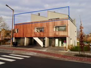 Nieuwbouw penthouse te huur in GentNieuwbouw penthouse te huur in Gent nabij station en R4. Deze penthouse beschikt over een leefruimte grote raampart