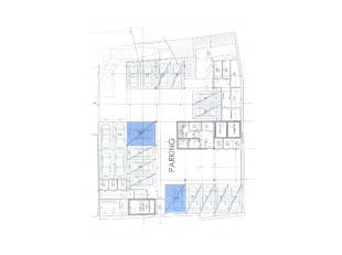 """Nog enkele ondergrondse autostanplaatsen beschikbaar in de nieuwbouwresidentie """"Willem De Beer"""". dubbele autostaanplaatsen, voor 2 auto's na mekaar. 5"""