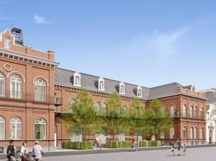 Even typisch voor het stadsbeeld van Gent als de naburige oude kunstacademie is de voormalige brandweerkazerne, voordien een meisjesschool, die als ba
