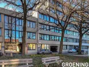 Kantoorgebouw Groeninghe ligt in een groene en rustige omgeving aan de rand van de stad Gent (omgeving UZ), nabij het station, en dicht bij de op- en