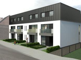 Appartement van 120m² met zuidgerichte tuin, carport en tuinhuis.<br /> 1 slaapkamer met mogelijkheid om 2° kamer/bureau te integreren in de