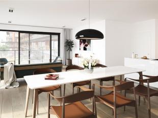 Dit lichte 3-slaapkamerappartement op de tweede verdieping heeft een bewoonbare oppervlakte van maar liefst 136 m² en een ruim terras van 33 m&su